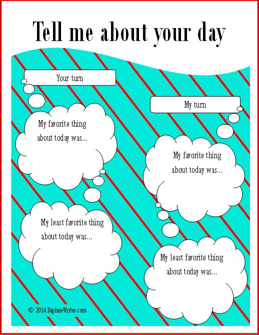 TellMeAboutYourDay Printable