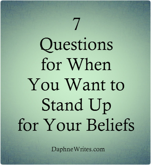 standing up for your beliefs essay research paper service standing up for your beliefs essay